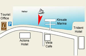 Kinsale Harbour Cruises Embarkation Point